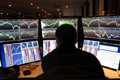 Trading au carnet d'ordres Krechendo salle des marchés