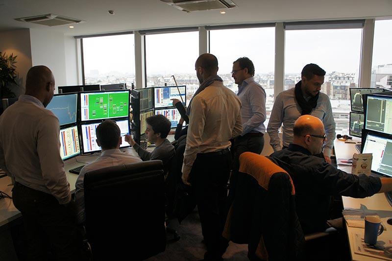 Location bureau de trading - Desk finance - Krechendo
