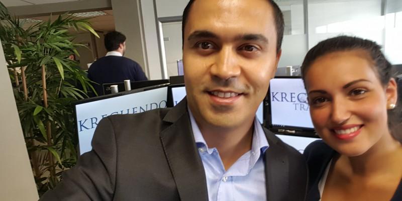 Participants journée Krechendo Trading